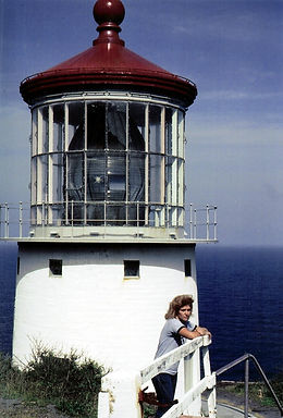 Author at Makapu'u Lighthouse Feb 1985.j