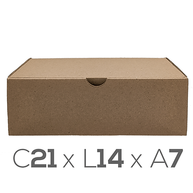 Caixa Montável N°1 - 21x14x7