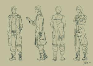 Jencyo Mostinel character design