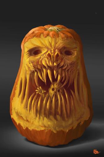 Chimère d'Halloween