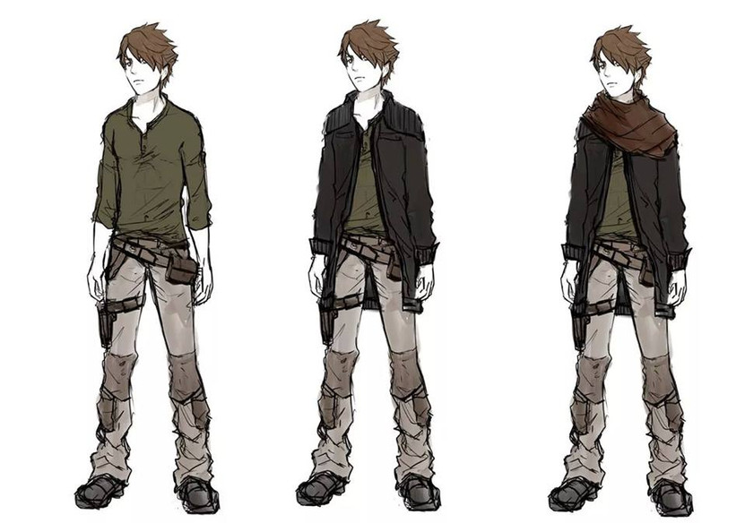 Jencyo Mostinel - Character Design par Aerinn