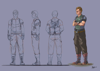 Dan Herocta character design