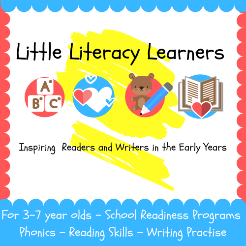 Little Literacy Learners (4-6yrs)
