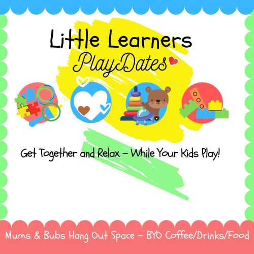 Little Learners Playdate (6mths- 2.5yrs)