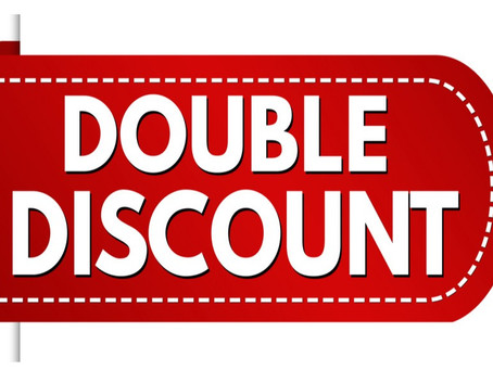 DOUBLE DISCOUNT AT L & N GAMES