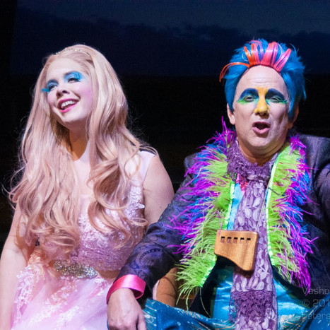 Pamina & Papageno at Vashon Opera