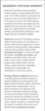 Bondurant Auto Body Warranty page 2.png