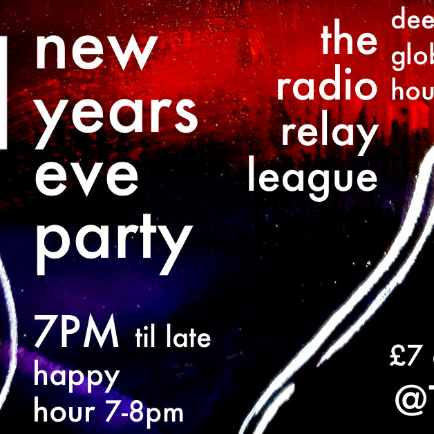 New Years Eve Party @TheHotTin with The Radio Relay League