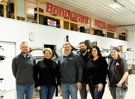 Bondurant Auto Body Featured in Fender Bender Magazine