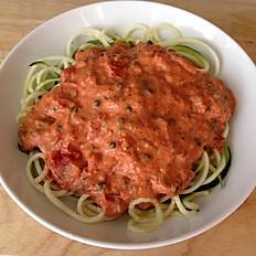 Vegetable Noodle Alla Vodka