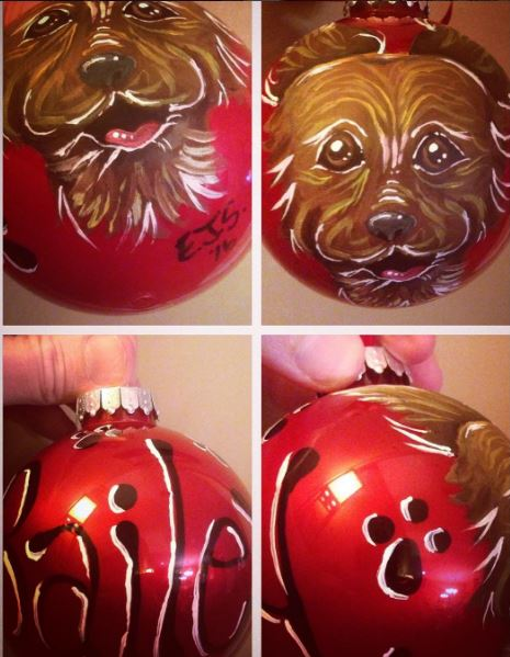 Puppy Ornament - Bailey