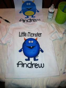 Custom Monster Shirt