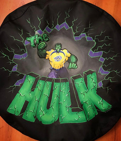 The Hulk Tire Cover