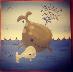 Baby Whale Painting