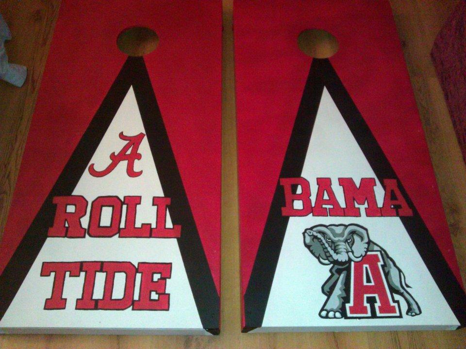 Alabama Corn Hole Boards