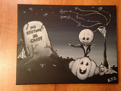 Custom Halloween Painting