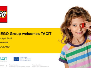 TACIT at  LEGO System A/S, Billund, Denmark (20-21 April 2017)