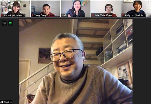 Q+A with Yifan Li (Feb 19, 2021)