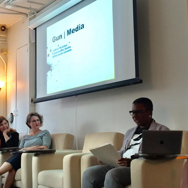 How to MsUnderstand Media: Incubator, Gun, CRISPR and the Fearless Girl: Anne Balsamo, Sarah Banet-Weiser, Sara Martel + Judith Nicholson
