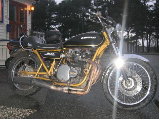 Kawasaki 900 1974'model 1