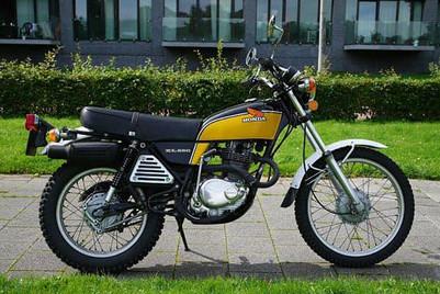 Honda XL 250 1976'model