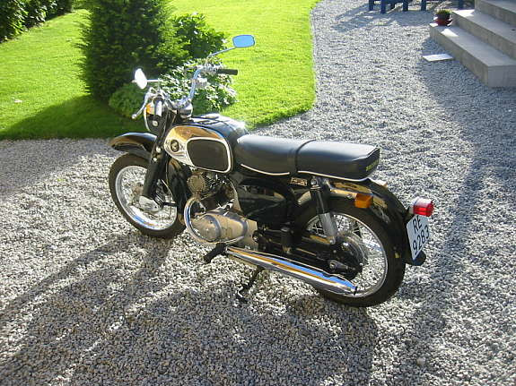 Honda Benly 125cc 1965'model
