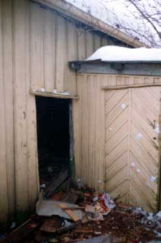 The old woodshed