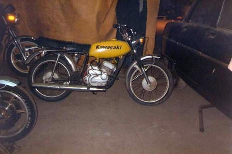 Kawasaki A1 250 1971'model