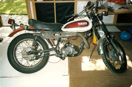 Yamaha DT 250 1973'model
