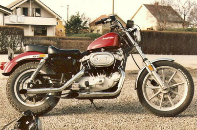 Harley Davidson XLX 1000 1984'model