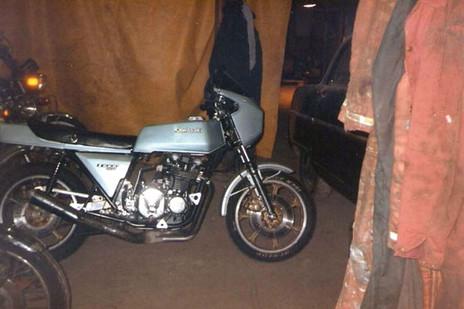 Kawasaki Z1R 1978'model