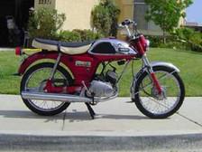 Yamaha YL 100 1970'model