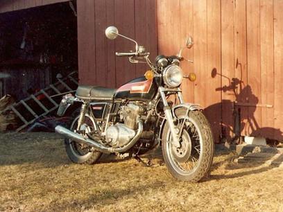 Yamaha TX 750 1974'model
