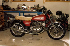 Yamaha TX 750 1973'model