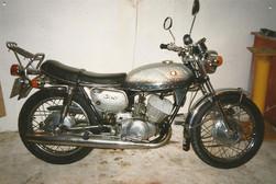 Suzuki T 350 II 1971'model 001