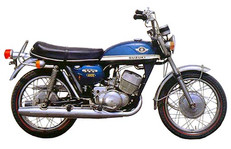 Suzuki T 350 II 1970'model