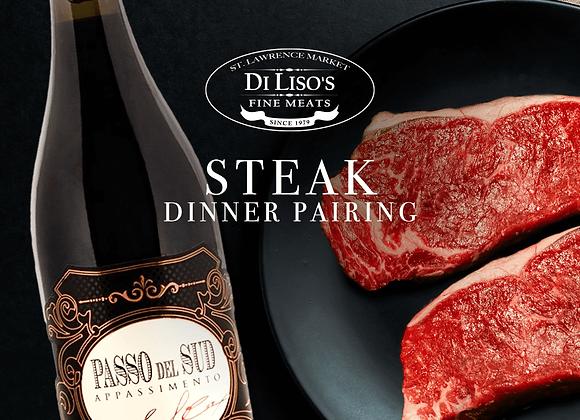 Steak Dinner Pairing