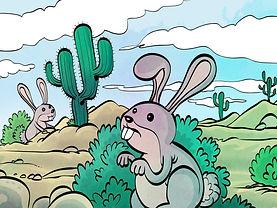 الأرنب الذي سئم من الحرية قصة مصورة قصيرة من شركة صندوق المحدودةة