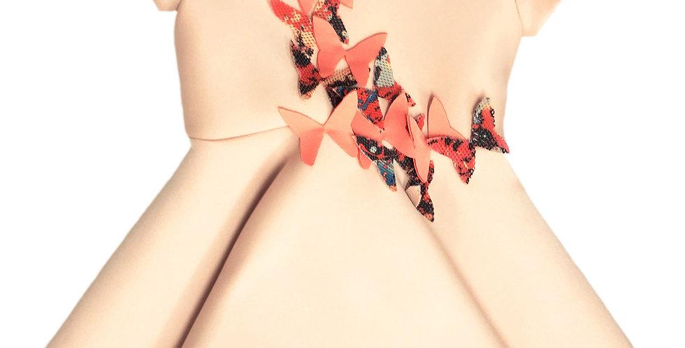 FREE BUTTERFLY DRESS