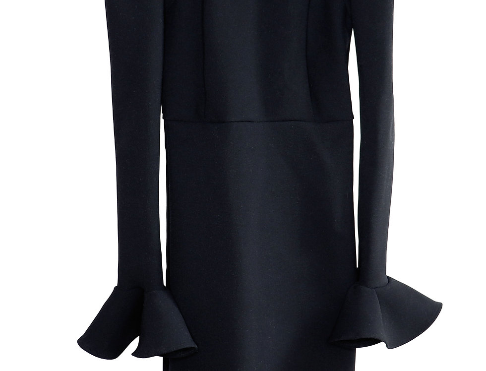 OLYMPIA HIGH NECK DRESS