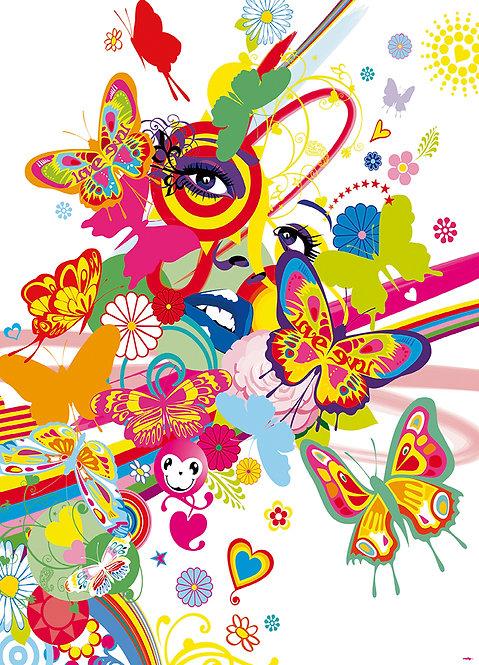 429 Rainbow Face