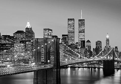 138 Manhattan Skyline at Night