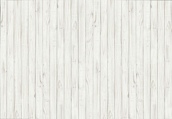 169 White Wooden Wall