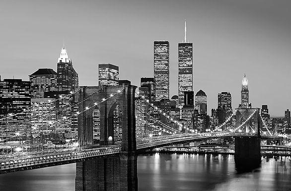 625 Manhattan Skyline At Night