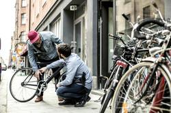 Two Man negozio di biciclette