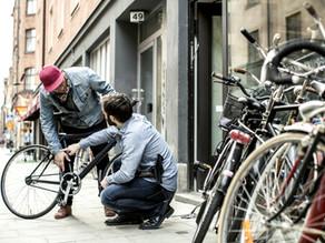 Verschillende problemen tijdens het fietsen:
