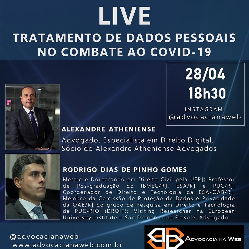 LIVE - Tratamento de dados pessoais no combate ao COVID-19
