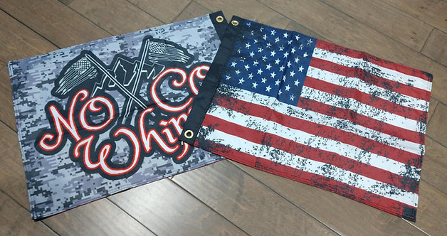 "Double sided 18x24"" America/NoCo Flag"