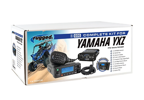 Yamaha YXZ Complete UTV Communication System