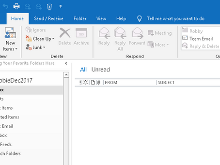 Outlook Quick Tip: Navigation Pane